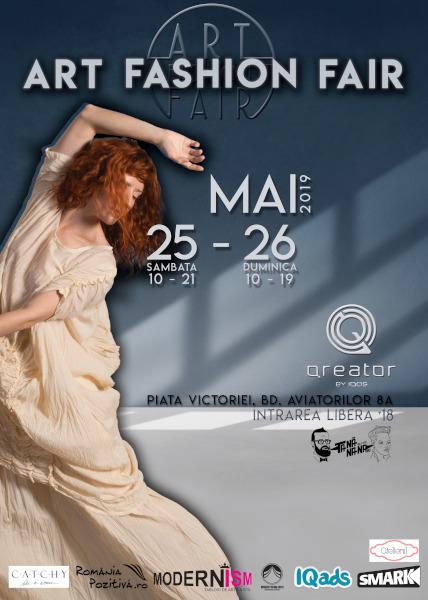 afis Art Fashion Fair 25-26 mai