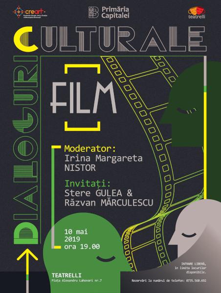 afis Dialoguri culturale Teatrelli