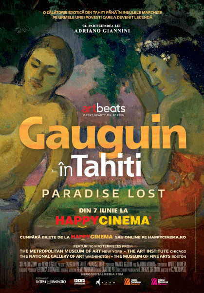 afis Gauguin In Tahiti