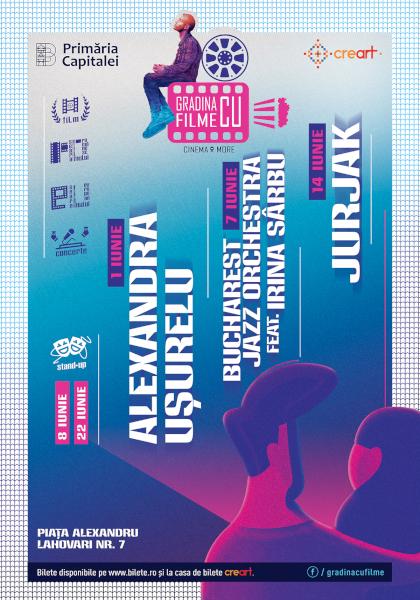 afis Gradina cu Filme iunie 2019