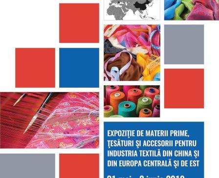 HOLDE TEXTIL EXPO, prima expoziție internațională de textile