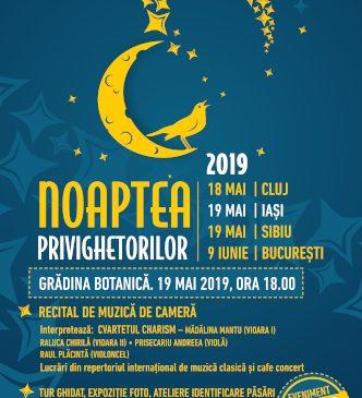 Noaptea Privighetorilor la Iași, pe 19 mai