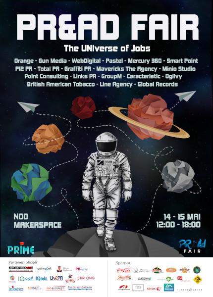 afis PR&Ad Fair, The Universe of Jobs