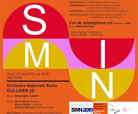 Săptămâna Internațională a Muzicii Noi – ediția 29 – la Sala Radio