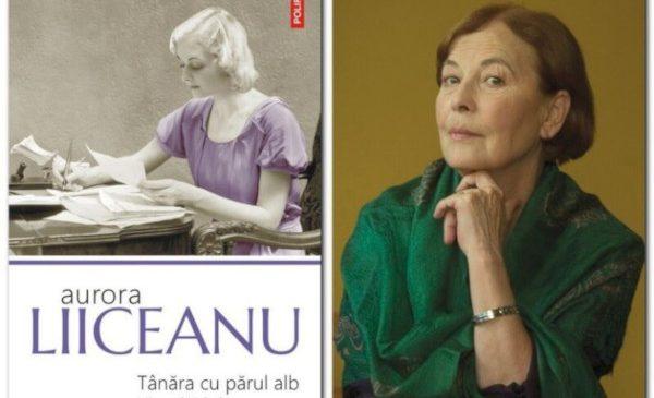 """Aurora Liiceanu în dialog cu Ovidiu Șimonca, pornind de la volumul """"Tânăra cu părul alb. Misterul Nabokov"""""""