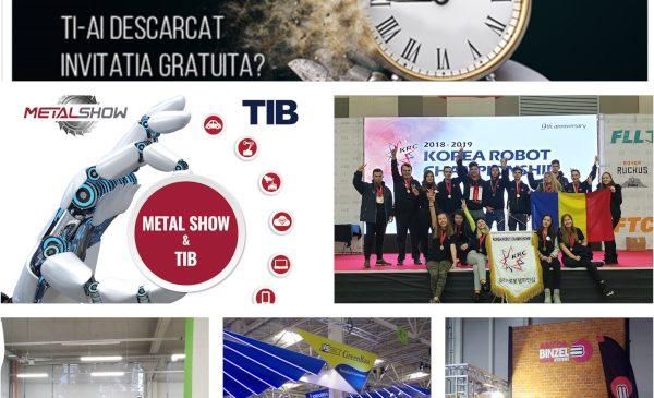 Mâine se deschide METAL SHOW & TIB la Romexpo
