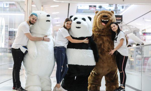 """De luni, 27 mai, Grizz, Panda și Ursul Polar pornesc în aventură într-un sezon nou """"Aventurile fraților urși"""" la Cartoon Network"""
