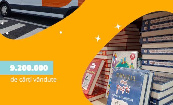 În 10 ani de la înființare, peste 1.2 milioane de români au cumpărat cărți de pe Libris.ro