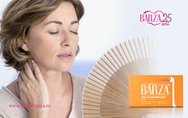 menopauza, Barza