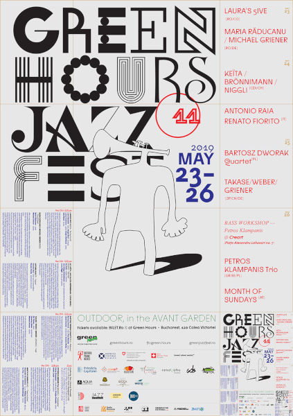 poster Green Hours JAZZ Fest 11