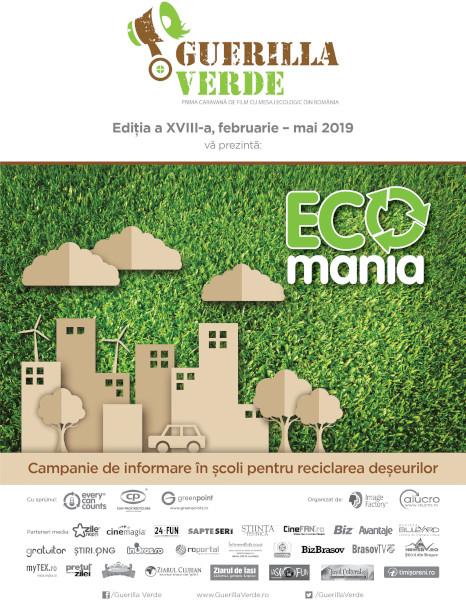poster Guerilla Verde, ECOmania 13