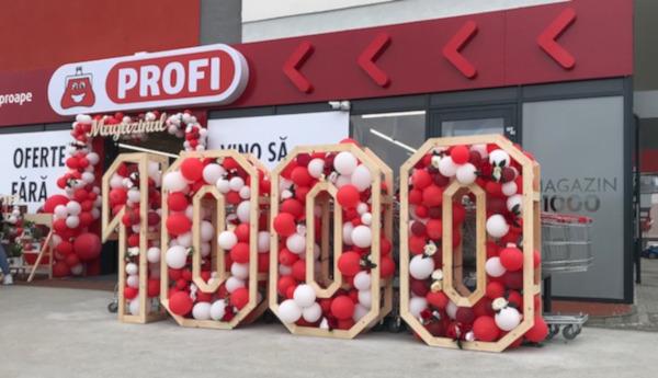PROFI: Prima rețea cu 1000 de magazine din România