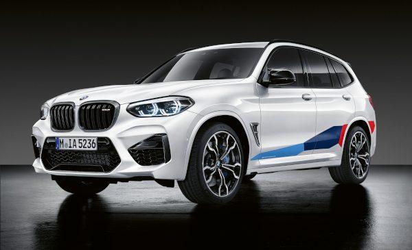 Accesorii M Performance pentru BMW X3 M şi BMW X4 M