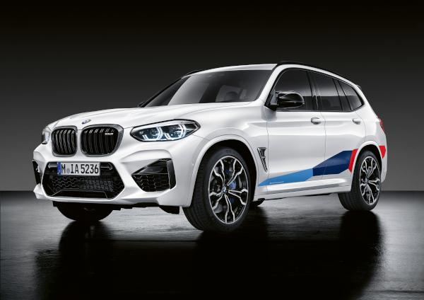 Accesorii M Performance pentru BMW X3 M si BMW X4 M