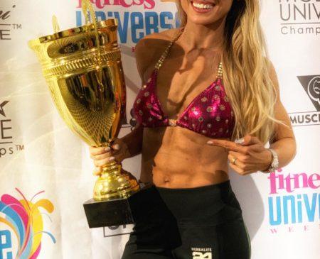 Anca Bucur a câștigat al șaselea ei titlu de Miss Fitness Universe