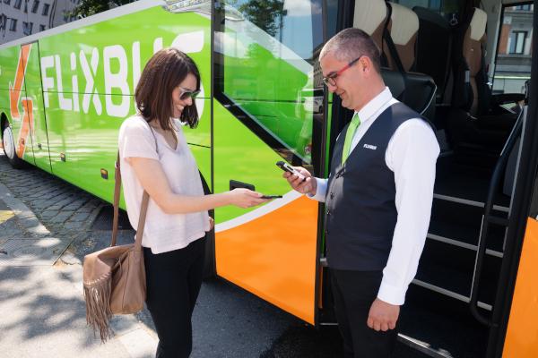 Apple Pay FlixBus