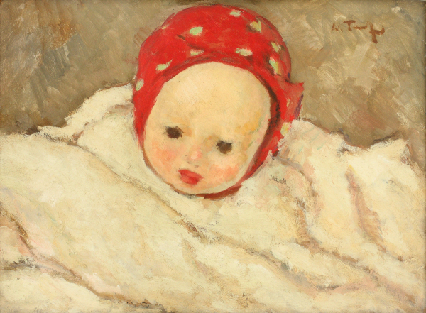 Cap de copil (Ciobănaș) - 1925-1926, Nicolae Tonitza
