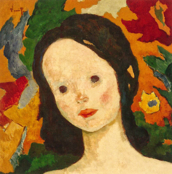 Cap de fetiță - 1926-1928, Nicolae Tonitza