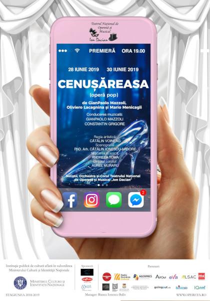 Cenusareasa, Teatrul National de Opereta si Musical Ion Dacian