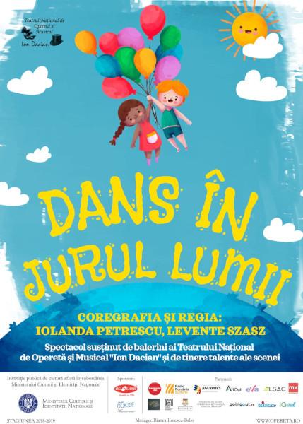 Dans In Jurul Lumii, Teatrul National de Opereta si Musical Ion Dacian