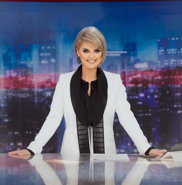 Silvia Ionita, prezentator Stirile Kanal D
