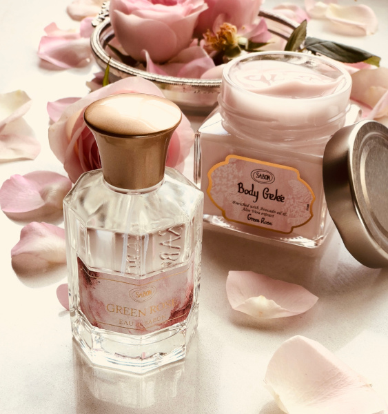 Eau de Sabon Body Gelee Green Rose