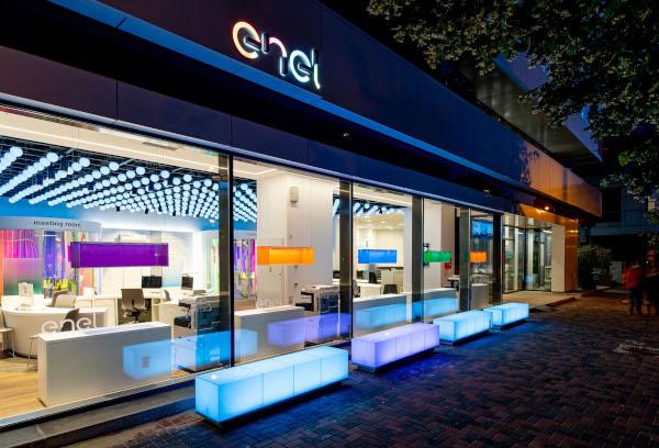 Enel, magazinul concept din Bucuresti