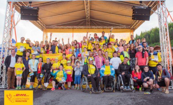 Sumă record strânsă la a 10-a ediție a DHL Carpathian Marathon powered by MPG! Aproape 20,000 de euro pentru Comitetul Național Paralimpic