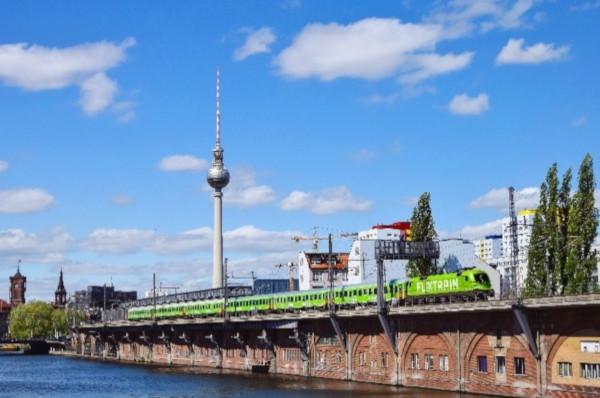 FlixTrain Greenpeace Energy