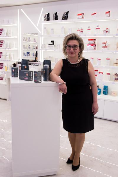 Gabriela Hâncu, partener de franciza Gerovital