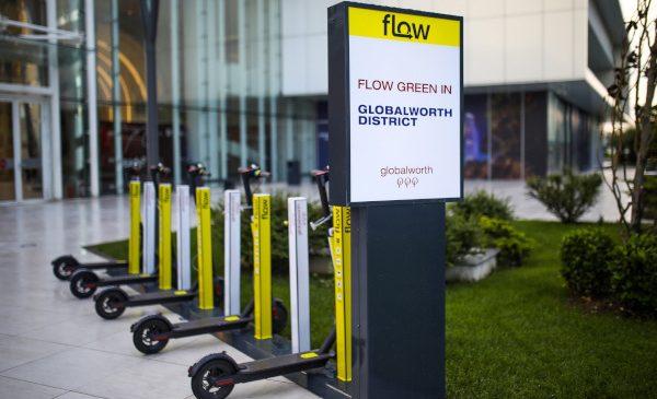 Angajații din clădirile Globalworth beneficiază de o nouă variantă de transport eco