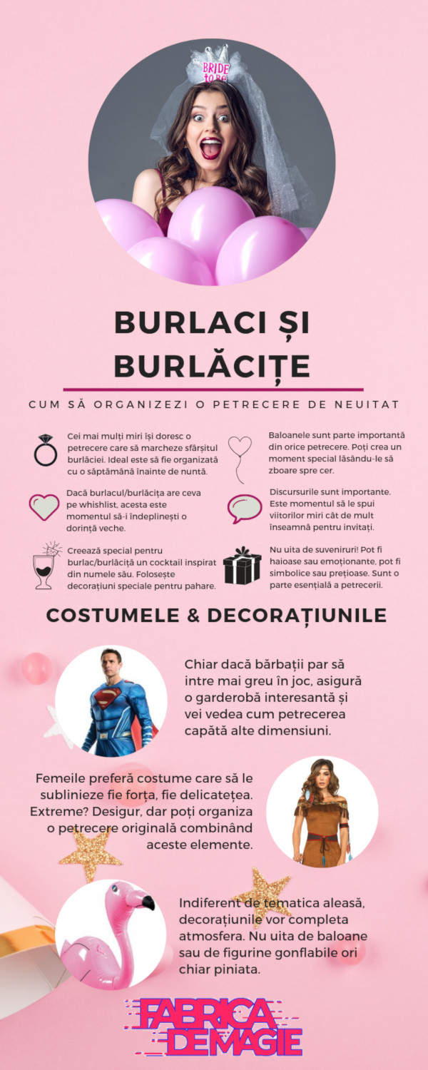 Infografic FabricaDeMagie.ro, Summer Party