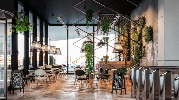 Lemon Interior Design, Cafeteria