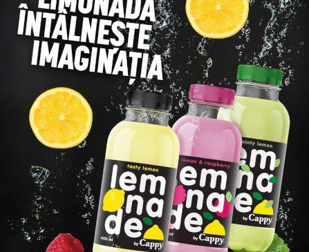 Coca-Cola România lansează Lemonade by Cappy