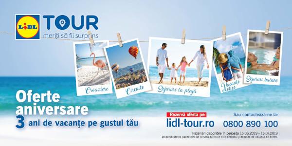 Lidl Tour 3 ani pe piata din Romania