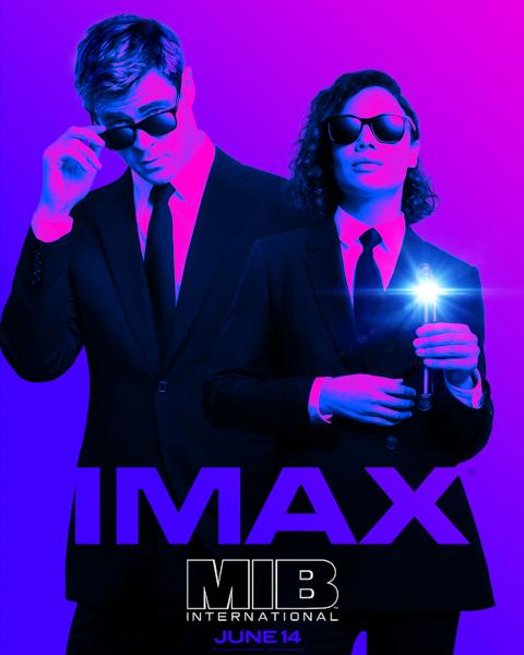 Men in Black, IMAX poster