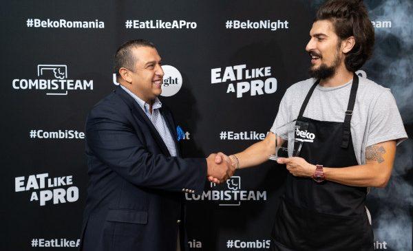Beko anunță parteneriatul cu Alex Petricean, cheful anului 2018 și lansează noul cuptor echipat cu tehnologia CombiSteam