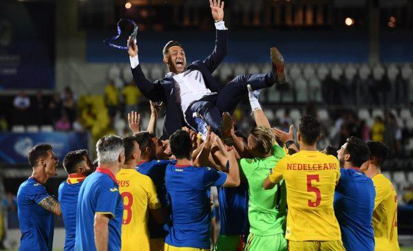 Calificarea României U21 în semifinalele EURO 2019, record de telespectatori la TVR 1