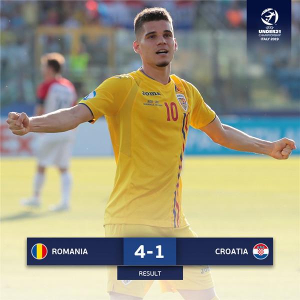 Romania-Croatia U21