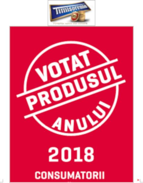 Timisoreana votat produsul anului