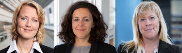 Verena Rathjen, Malin Svensson, Anna Forsberg