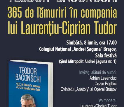 Întîlnire cu Teodor Baconschi şi Laurenţiu-Ciprian Tudor la Braşov