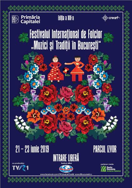 afis FIF - Muzici si Traditii in Bucuresti 2019