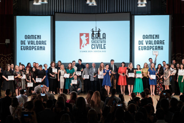 castigatori Gala Societatii Civile 2019