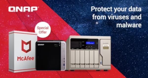 oferta limitata McAfee Antivirus - NAS