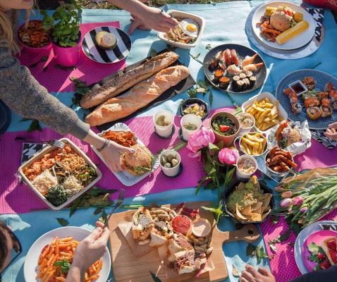 Ziua Internationala a Picnicului - zece preparate culinare recomandate de foodpanda