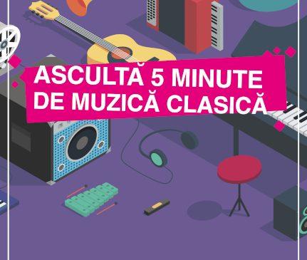 """Peste 220.000 elevi au ascultat muzică clasică la școală grație proiectului Radio România Muzical """"Ascultă 5 minute de muzică clasică"""""""