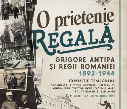 """Expoziția """"O Prietenie Regală: Grigore Antipa și Regii României 1892-1944"""" la Muzeul Județean de Mineralogie """"Victor Gorduza"""" Baia Mare"""