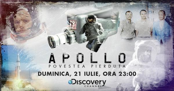 Discovery sărbătorește 50 de ani de la aselenizare și transmite un documentar despre misiunea istorică care a dus primii oameni pe Lună – APOLLO: POVESTEA PIERDUTĂ