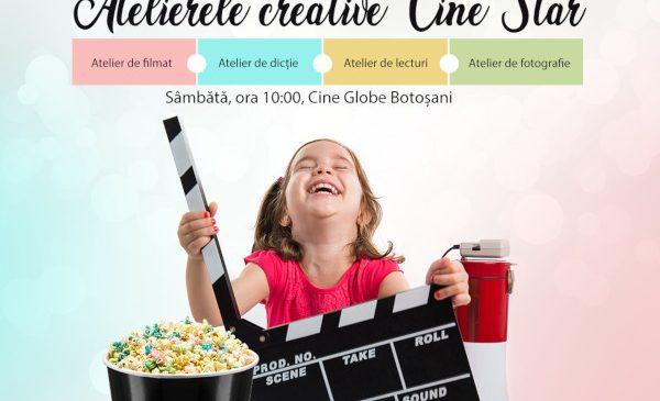 Descoperă atelierele creative Cine Star